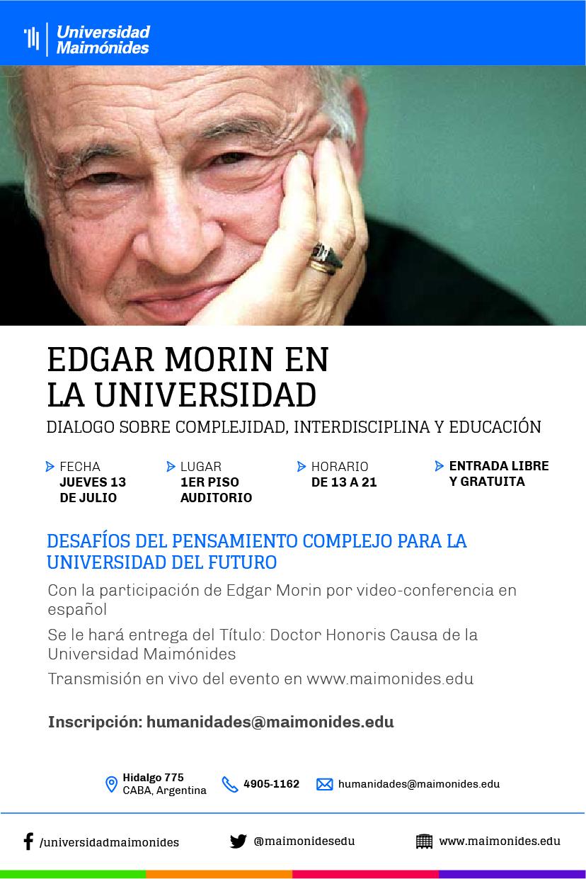 Diálogo sobre Complejidad, Interdisclina y Educación